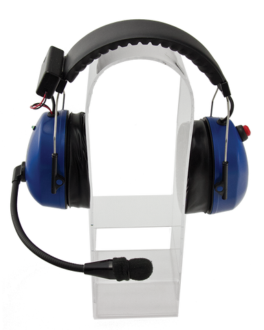Racing Radios Active Noise Reducing Over the Head Two-Way Headset