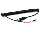XL Coiled Helmet Cable (4/C) | HKP-121010XL