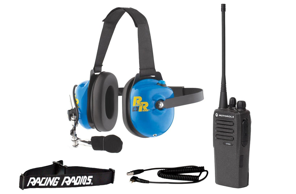 Racing Radios CP200D Digital Crew Member Package