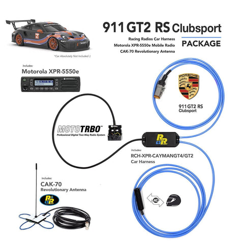 GT2 RS Clubsport | Car Wiring Harness Radio Communications Package