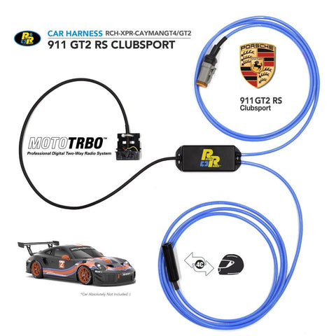 Porsche 911 GT2 RS Clubsport | Racing Radios Car Wiring Harness