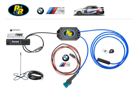 Racing Radios BMW M2 Clubsport Wiring Harness Package
