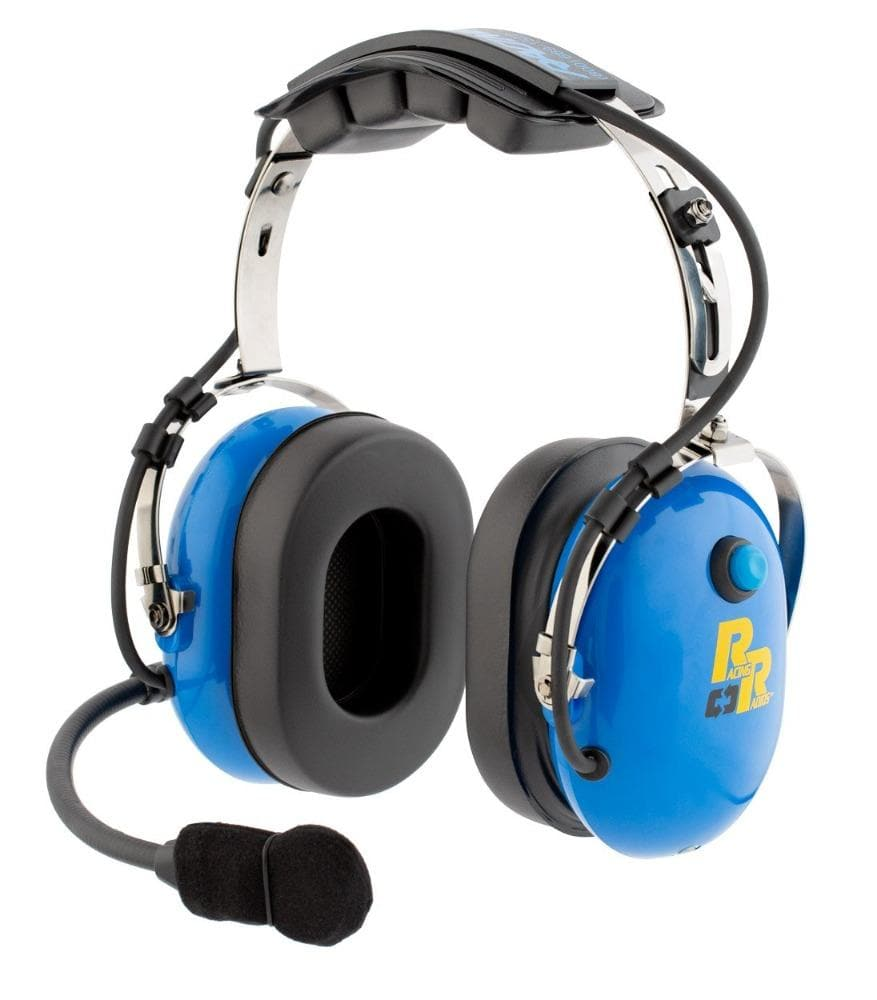 Racing Radios Over The Head Two-Way Headset | RRH158-H
