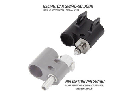 Racing Radios Helmet To Car Water/Radio Connector | HELMETCAR 2W/4C-5C-DOOR