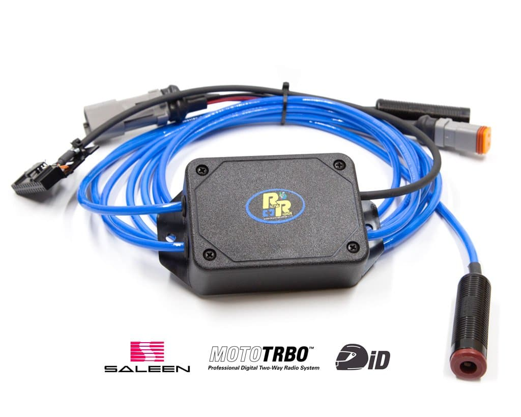 SALEEN S1 Mobile Radio Harness w/ Driver ID | RCH-XPR-SALEEN S1-ID