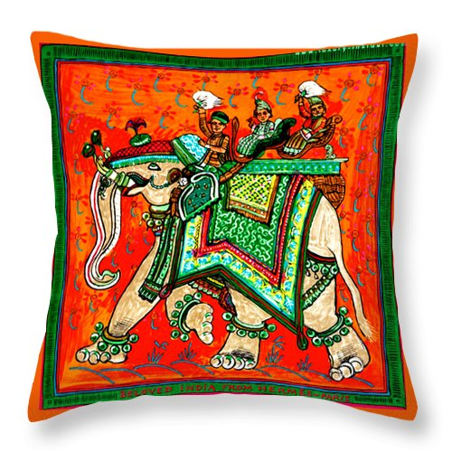 Elephant - Throw Pillow