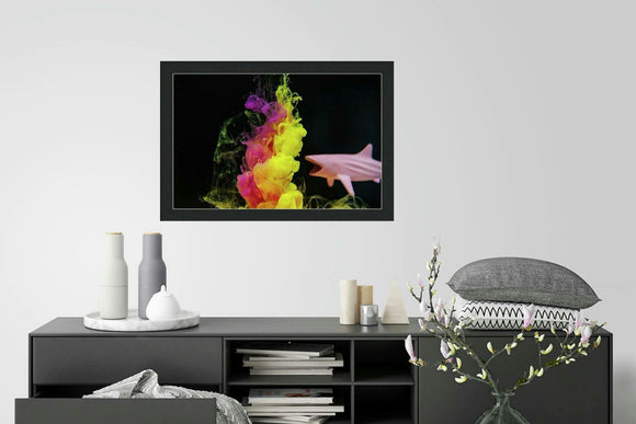 Shark Fantasy - Framed Print
