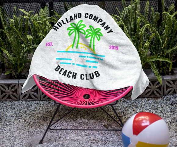 HCA Beach Club Towel