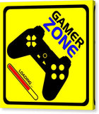Gamer Zone - Canvas Print