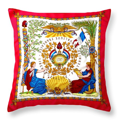 Hermes - Throw Pillow
