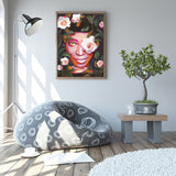 Garden Girl - Canvas Print
