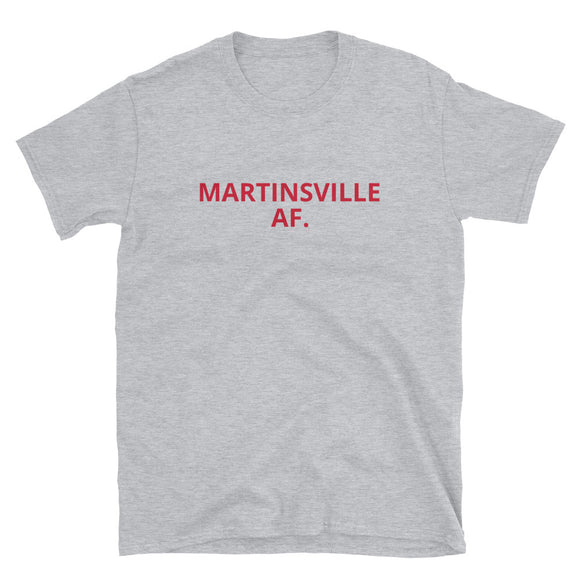 MARTINSVILLE AF. Short-Sleeve T-Shirt