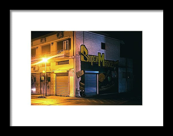 The Corner - Framed Print