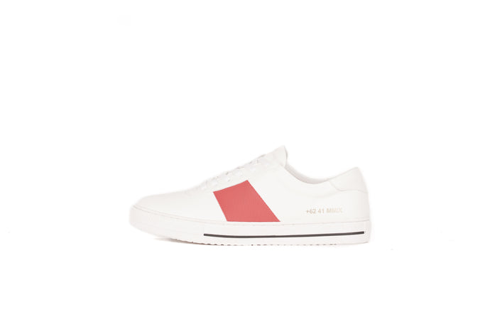 LAV-07 | WHITE / RED | MEN - Gio Cardin