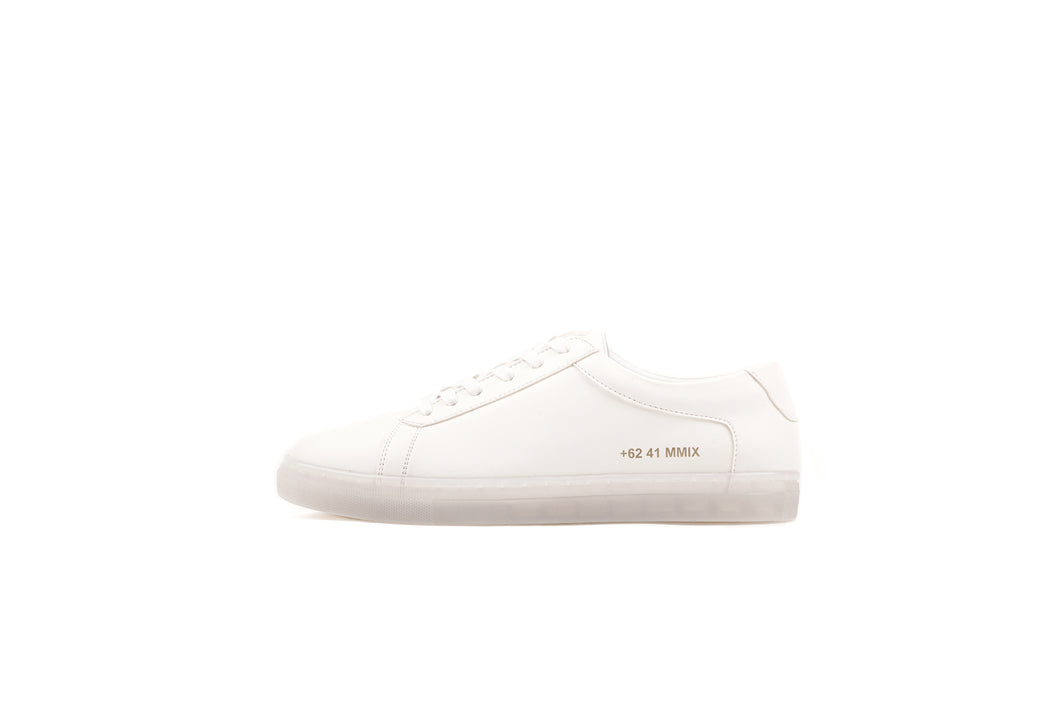 LAH-01 | CLEAR WHITE | MEN [LIMITED EDITION] - Gio Cardin