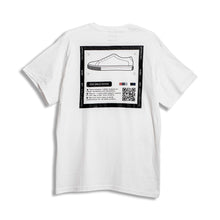 Load image into Gallery viewer, Screen Printing Mark Low Ankle Hover 01 Tshirt - White - Gio Cardin