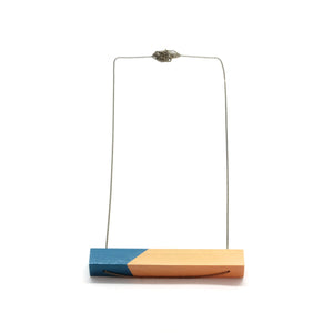 Necklace - Turquoise Bar