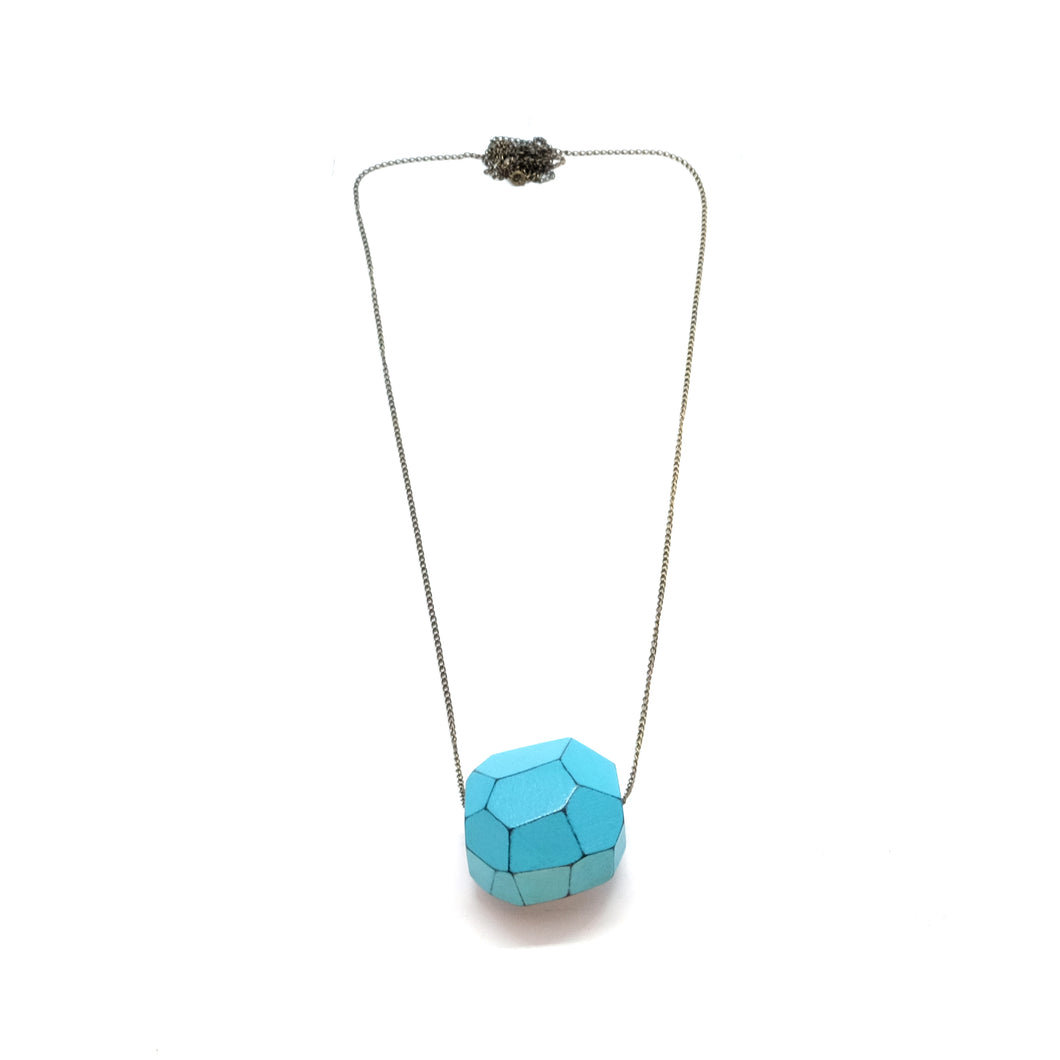 Necklace - Dot Light Turquoise