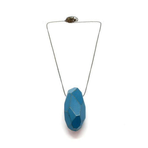 Necklace - Faceted Turquoise