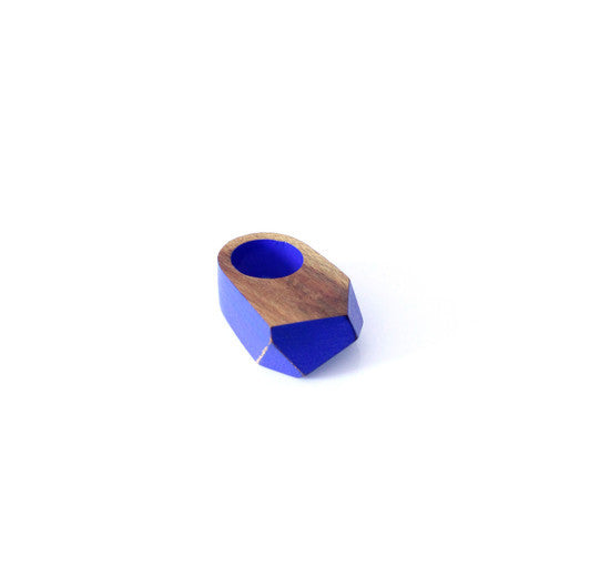 Ring - Faceted - Artigas Blue
