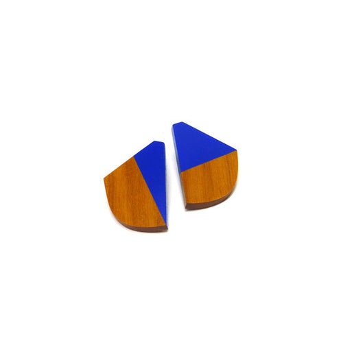 Earring - Curve Artigas Blue
