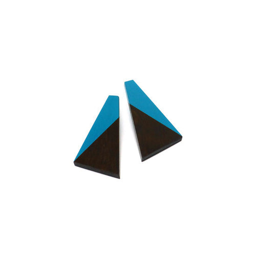 Earring - Dipped Light Turquoise