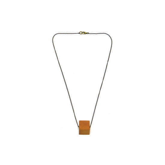 Necklace - Little Cube