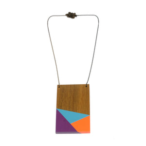 Necklace - Geometry Plate #1