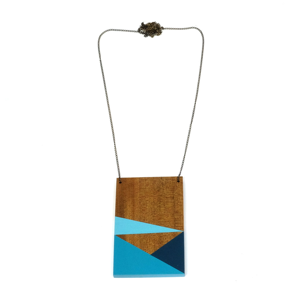 Necklace - Geometry Plate #2