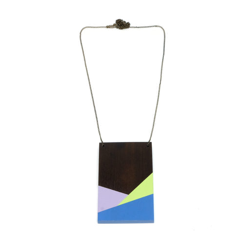 Necklace - Geometry Plate #3