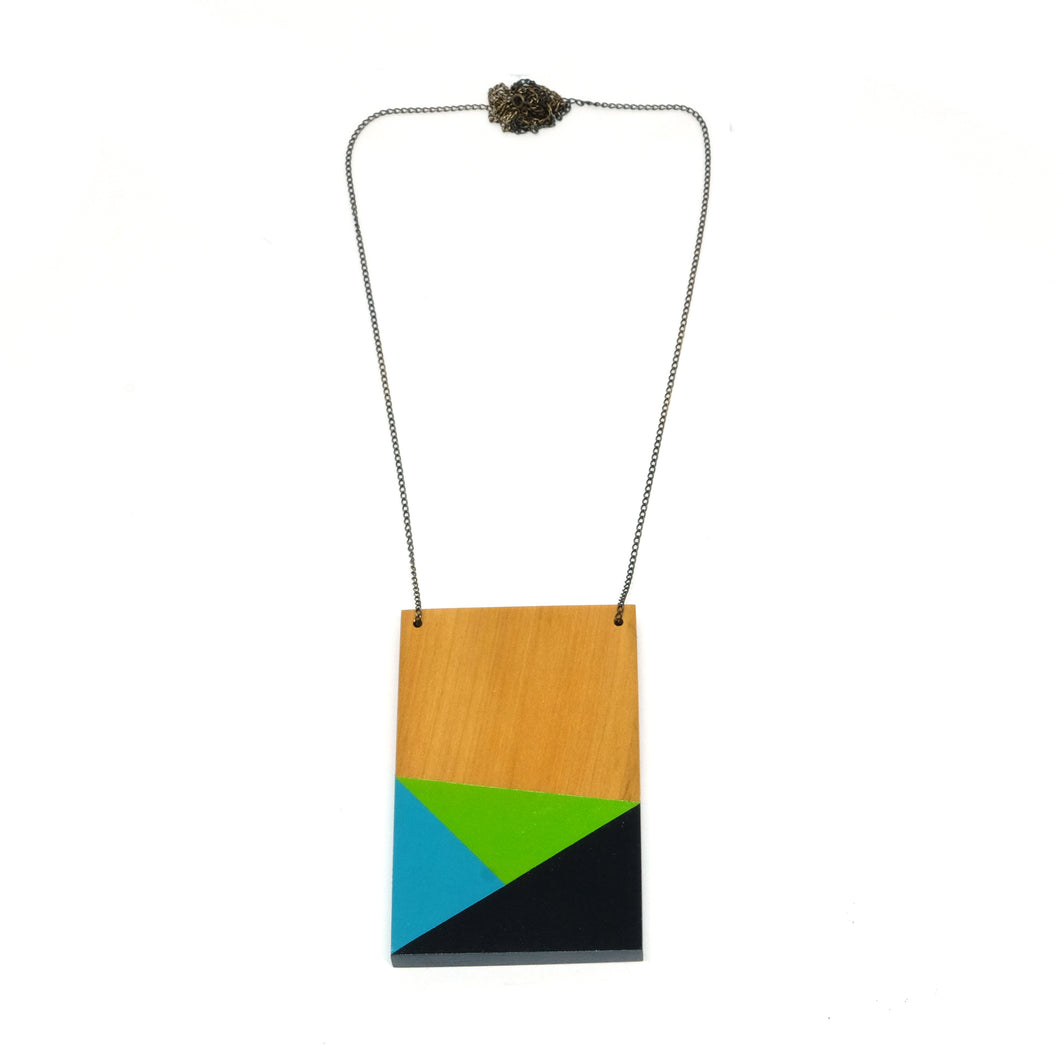 Necklace - Geometry Plate #6