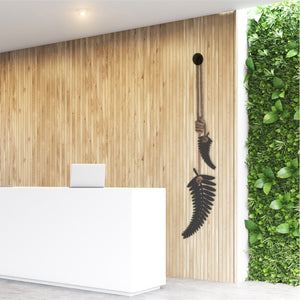 Silver fern NZ office wall art