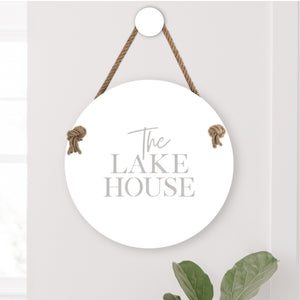 The Lake House sign NZ