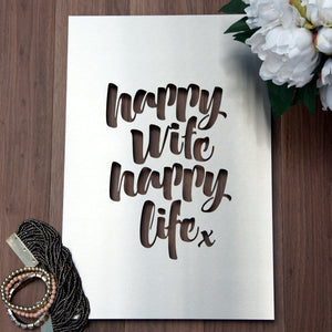 Happy Wife, Happy Life END OF LINE SECOND