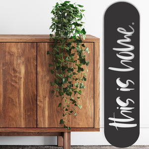 This is home black wall decor NZ