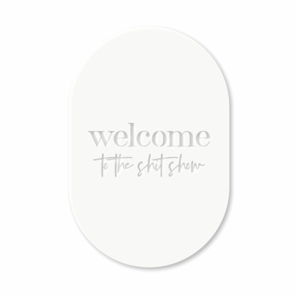 welcome sign for front door NZ made