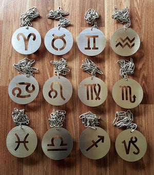 Zodiac Symbols sold separately SAMPLES