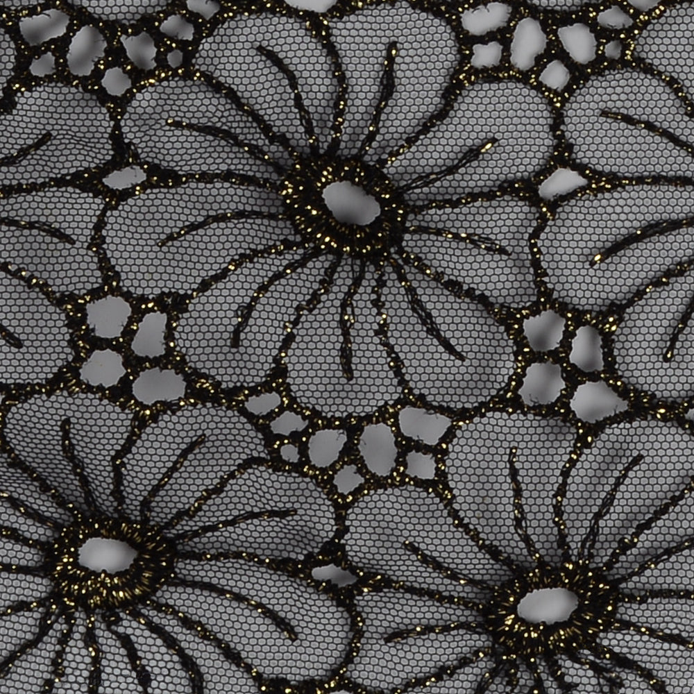 LUREX LACE GUIPURE FLOWER