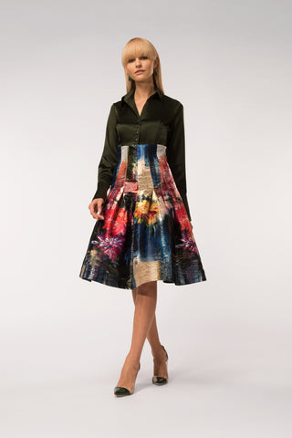 KATOUCH ATELIER | ORIENTAL LILY SKIRT | Women's clothes online UK