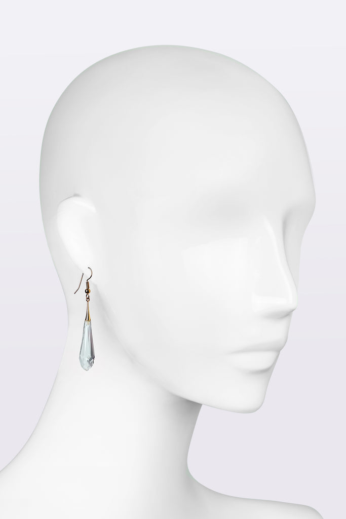 KATOUCH ATELIER | CRYSTAL | Tear drop earrings