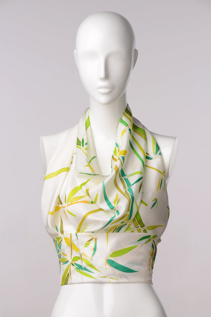BAMBOO Hand-painted scarf