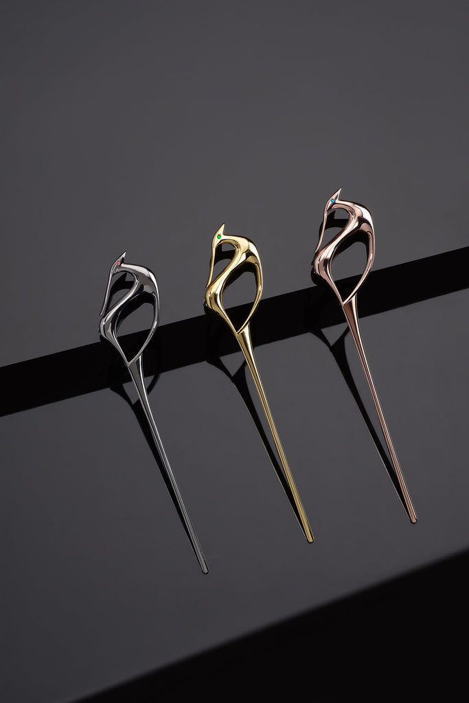 Brooch-Hairpins