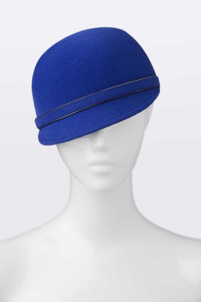 ROYAL BLUE Newsboy hat