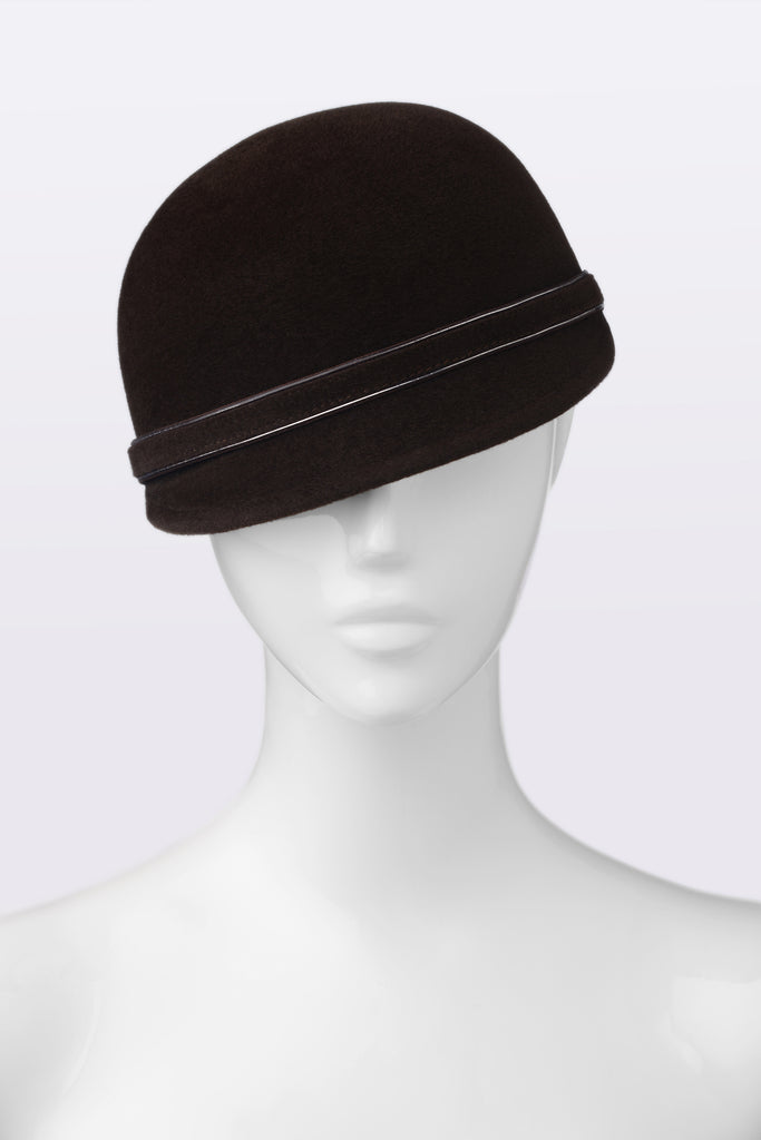 KATOUCH ATELIER | CHOCOLATE | Newsboy hat