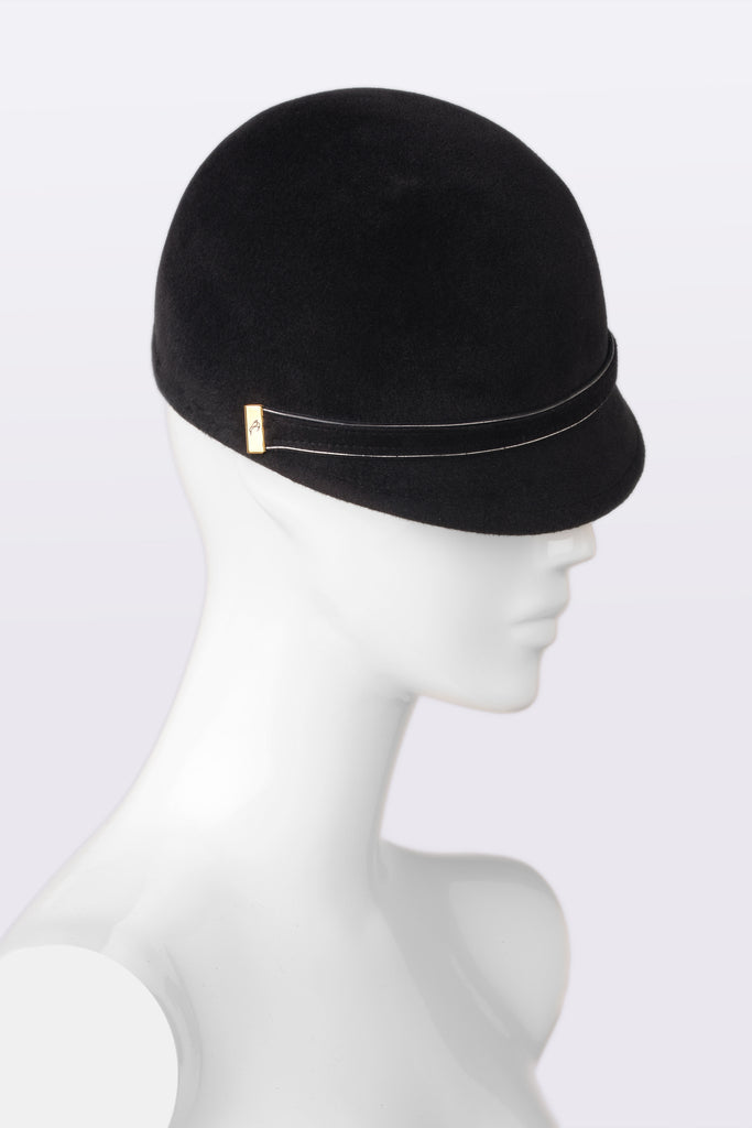 KATOUCH ATELIER | CHARCOAL | newsboy hat
