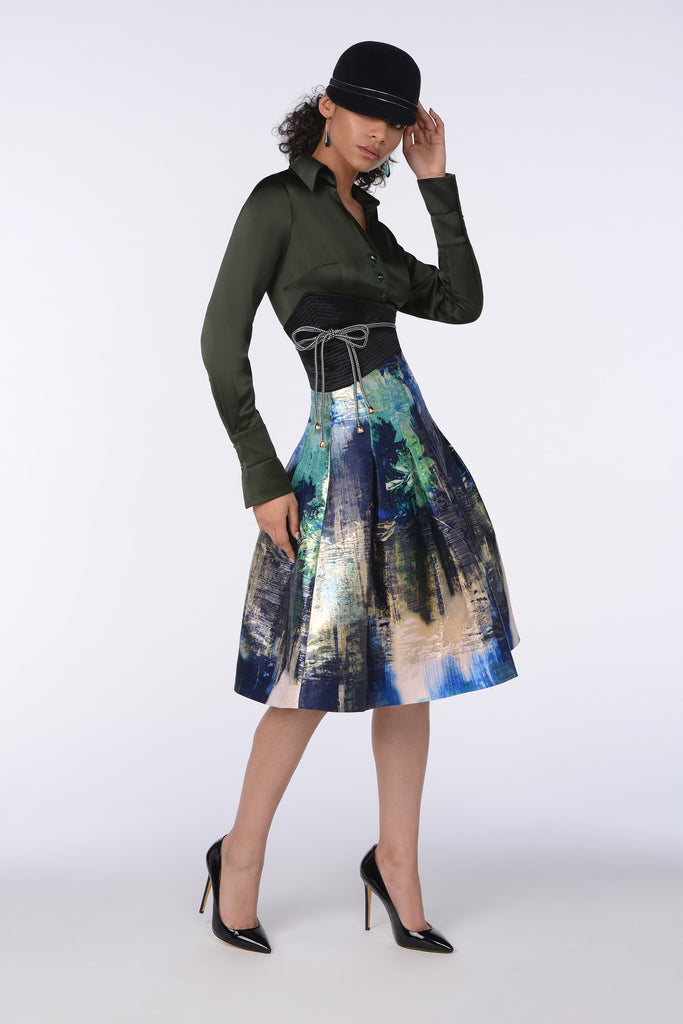 ORIENTAL LILY SKIRT