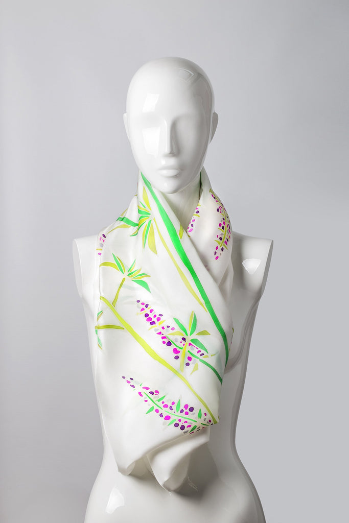 CELOSIA Hand-painted shawl