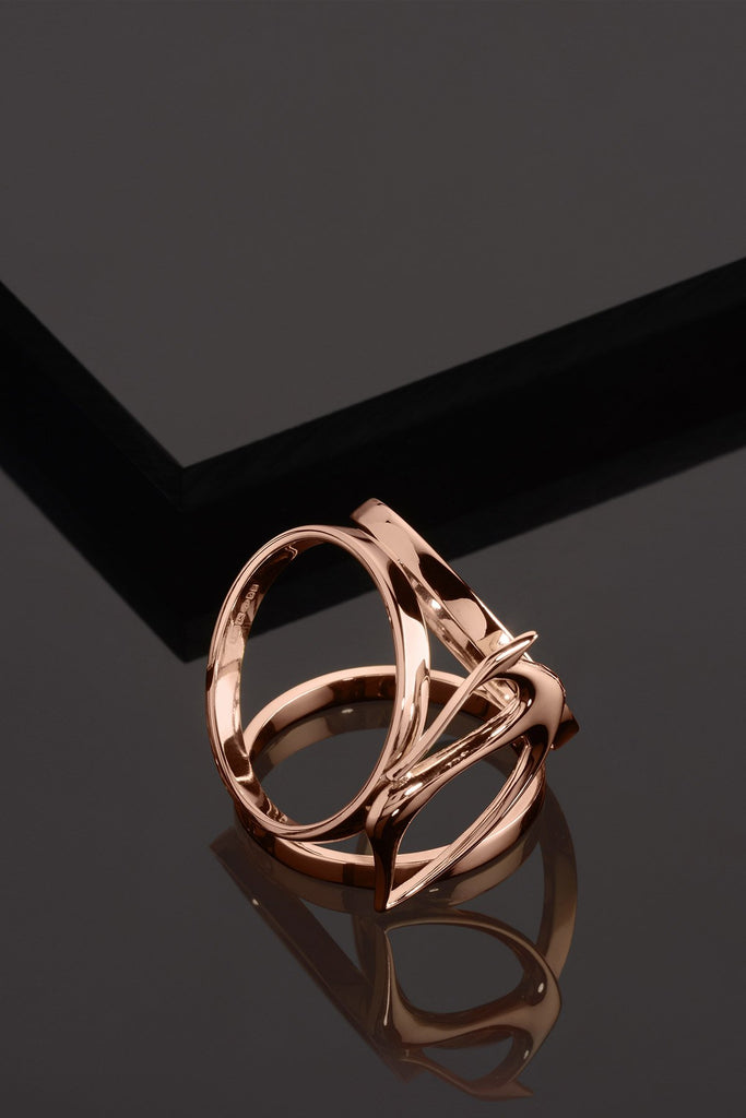 GAZELLE ROSE Scarf ring