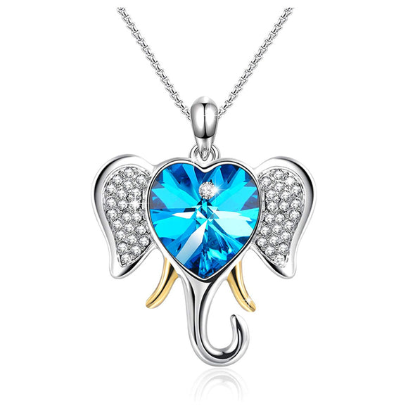 Individuality Elephant Pendant Necklace Women Jewelry