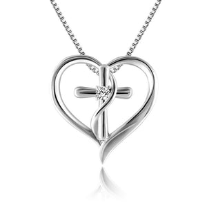 Stylish Cross Pendant Necklace for Women Jewelry